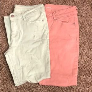 2 pairs of Old Navy ankle pants